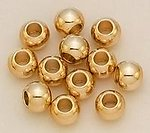 SP01M: Metal Spacers Gold/Silver, Dozen Count