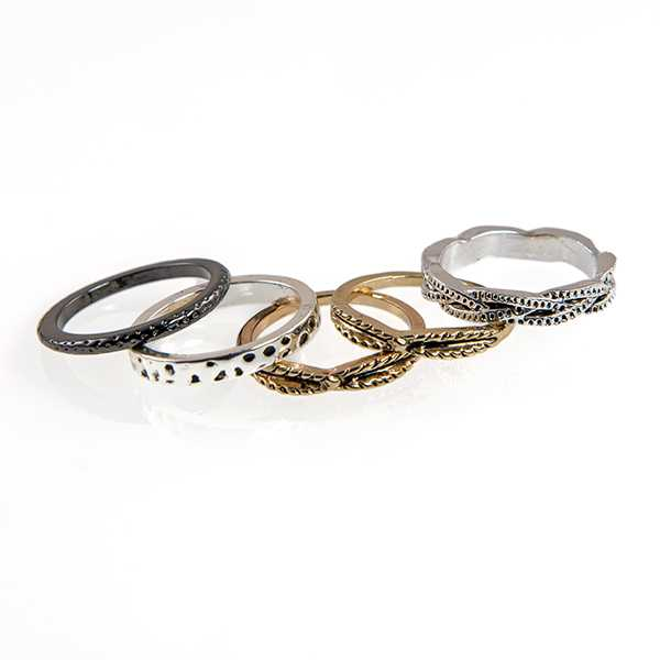 stylish promise for couples steel silver gold and titanium ring rings gemstone