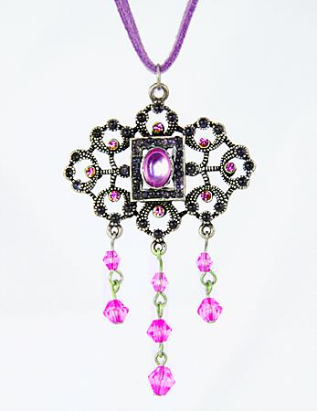 NA126: Chandlier Style Necklace