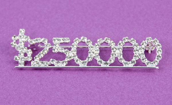 NC101: $200K Crystal Bar Pin