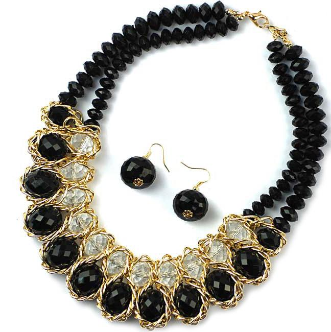 SN296: Black Pearl Necklace