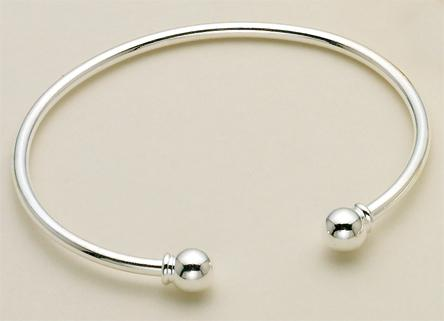 BR100S: Silver or Gold Bracelet Charm Holder