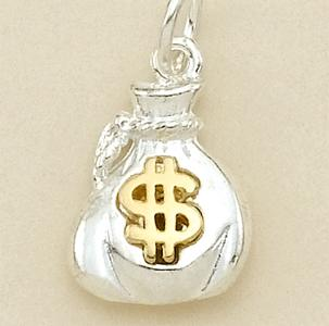 CH161: Money Bag Charm