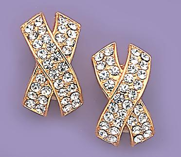 EA140: Extreme Style Crystal Earrings