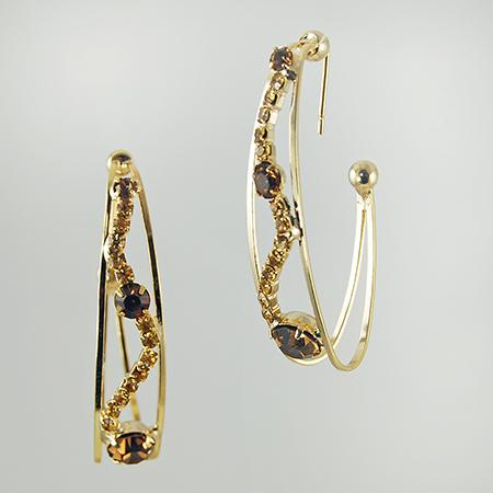 EA493: Designer Hoop Earrings