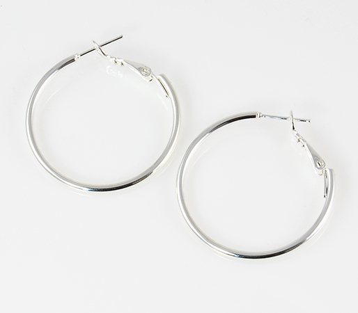 EA501PR: Stylish Gold Hoops