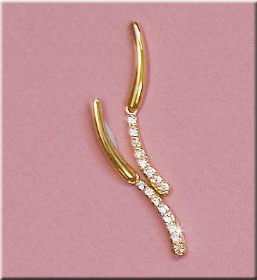 EA503: Delicate CZ Earrings