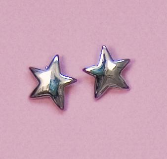 EA506: Silver Star Earrings