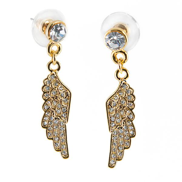 EA610: Golden Wing Earrings