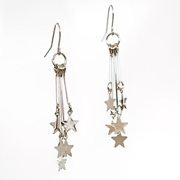 EA661: Delicate Star Earrings 3 Colors