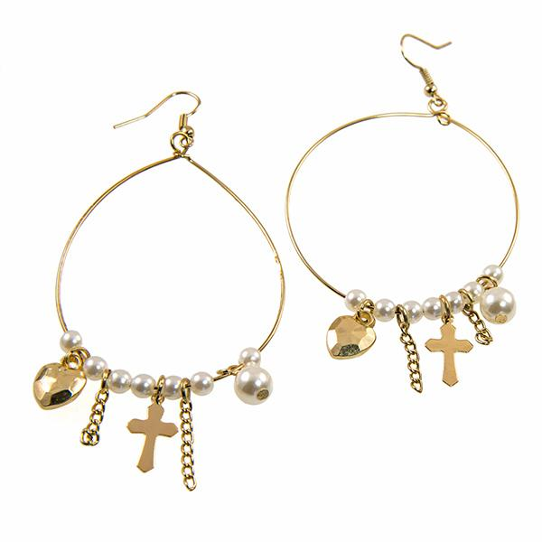 EA680: Pearl Treasure Earrings