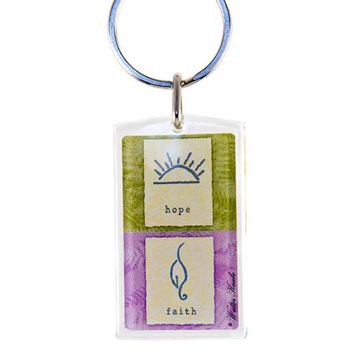 KE63: Hope / Love Keychain