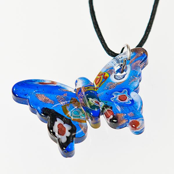 NA215: Moreno Style Butterfly Necklace
