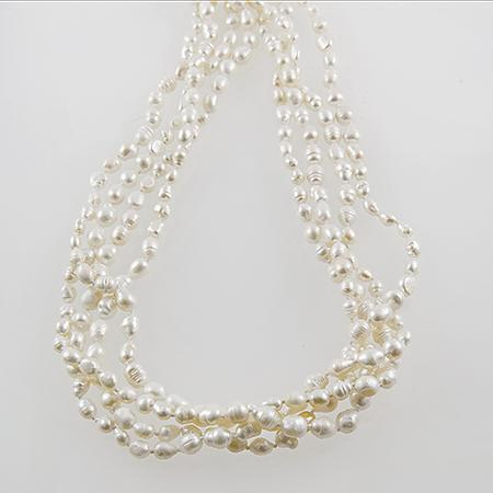 NA247: Fresh Water Pearl Necklace
