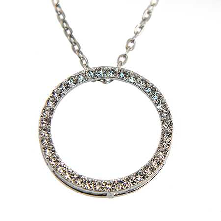 NA342:Crystal  Circle of Excellence Necklace