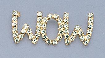 PA325: WOW Austrian Crystal Pin