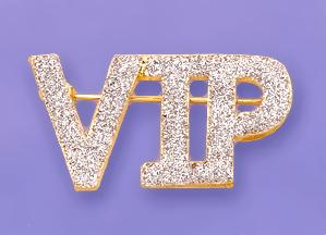 PA469: VIP Diamond Dust Pin