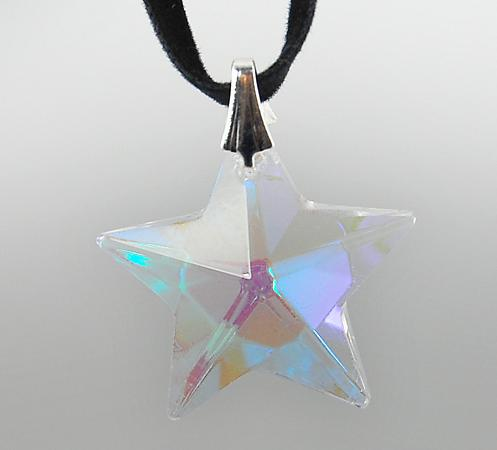 SJ01: Austrian Crystal Star Necklace