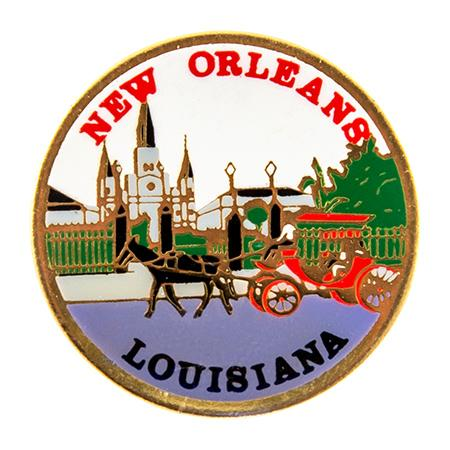 TA563: New Orleans Lapel Tac