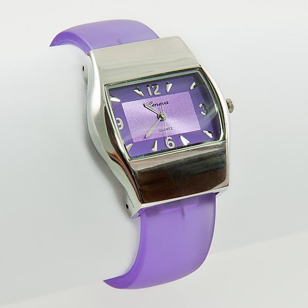 WA114: Purple Cuff Watch