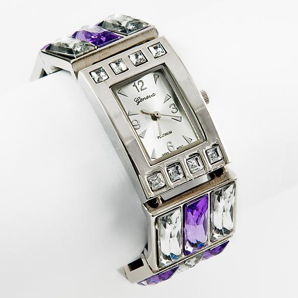 WA119: Austrian Crystal Violet Watch
