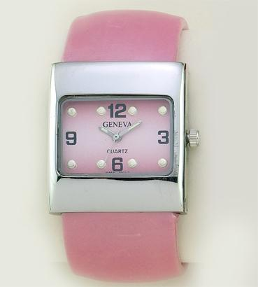 WA43P: Pink Cuff / Bangle Watch