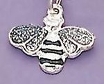 CE01PR: Bee Cell Phone Charm