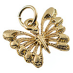 CH392: Filigree Butterfly Charm