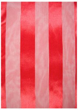 SS35: Solid Pattern Red Silky Scarf
