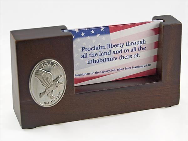 AB116: Eagle Business Card Holder