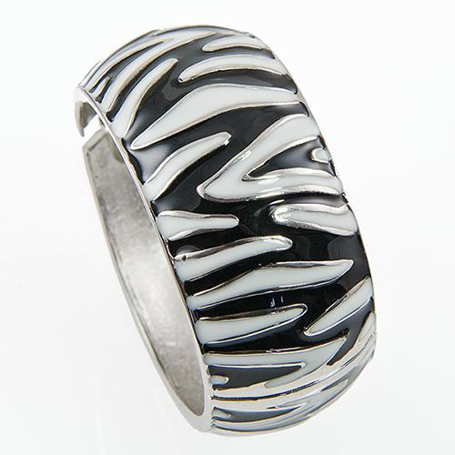 BR267: Black and White Zebra Bracelet