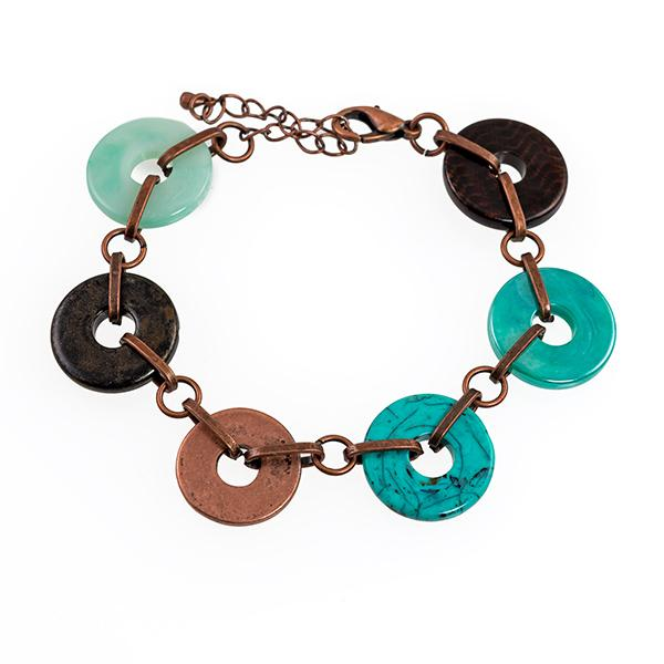 BR365:Exotic Turquoise Braclet