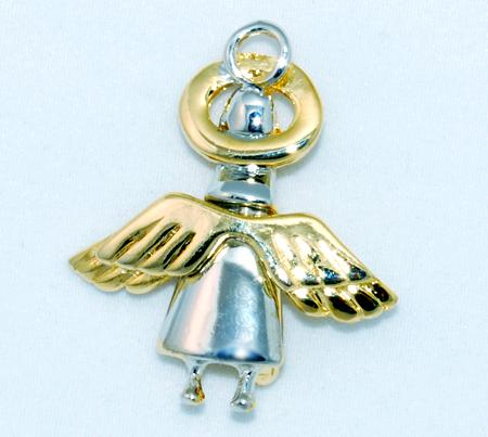 PA281: 2-Tone Angel Pin