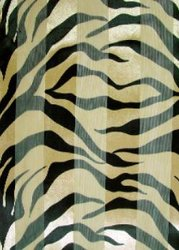 SS09T: Golden Brown & Black Tiger Scarf