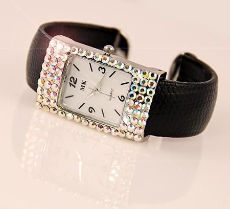 WA76: MK Signature Watch with Austrian Crystals