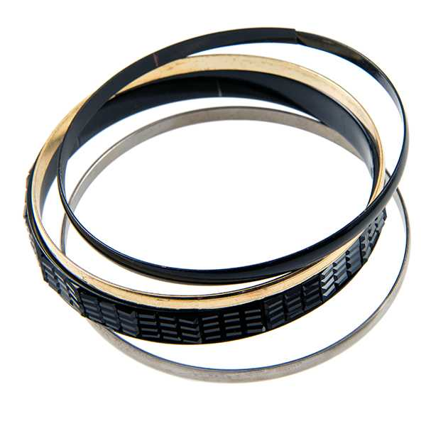 BR278: Silver or Gold Bangle Bracelets