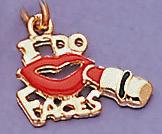CH65G: I Do Faces Charm in Gold