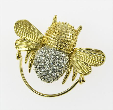 CHP121: Crystal Bee Charm / Eyeglass Holder