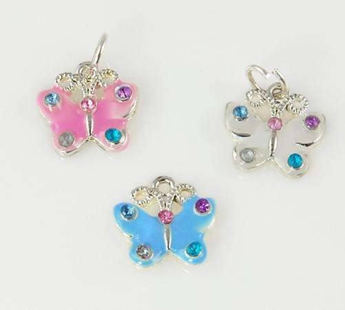 CL65: 3 Butterfly Charms