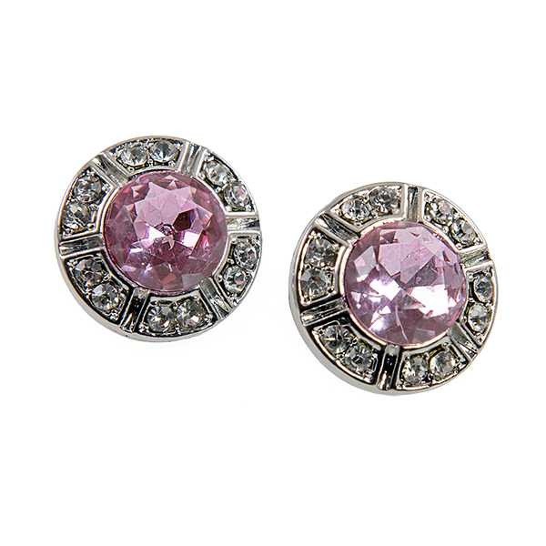 EA408: Pink Ice Earrings