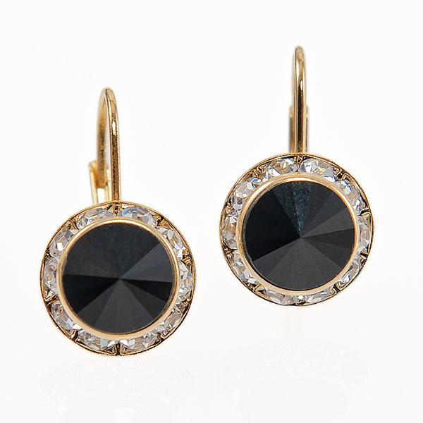 EA560BK: Classic Designer Earrings