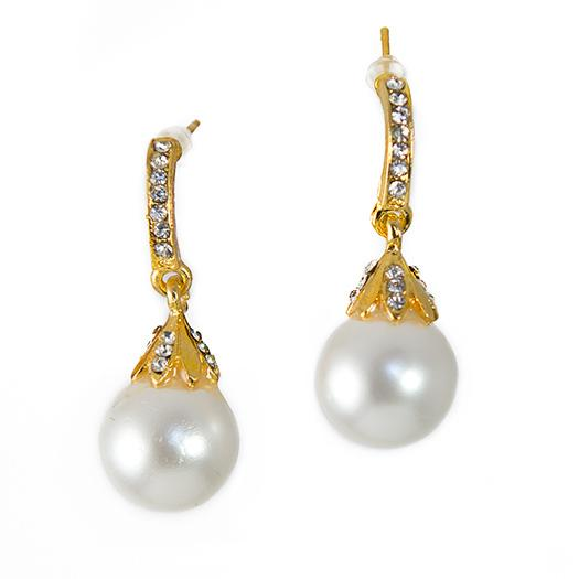 EA636: Pearl Drop Earrings