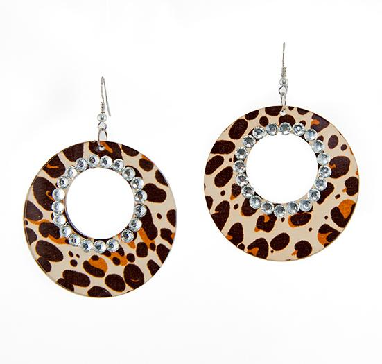 EA637: Exotic Animal Print  Earrings