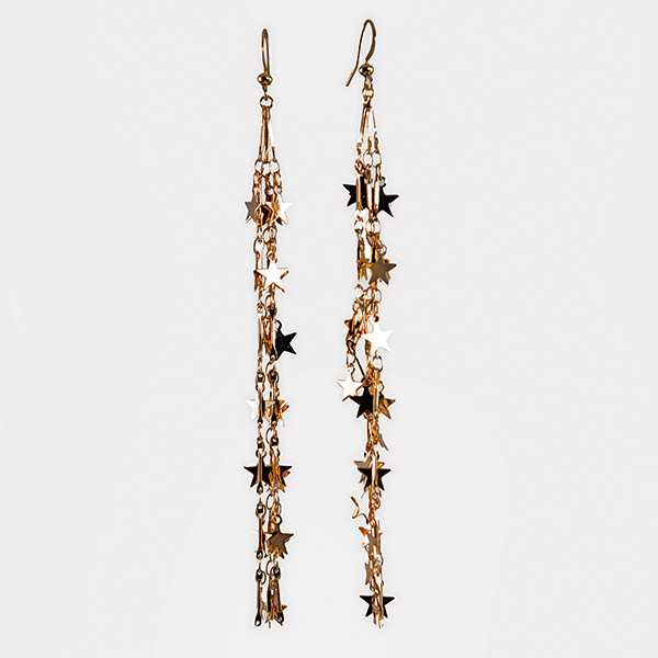 EA733: Cascading Rainfall Austrian Crystal Earrings