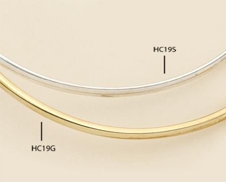 HC19: Collar Bar in Gold or Silver