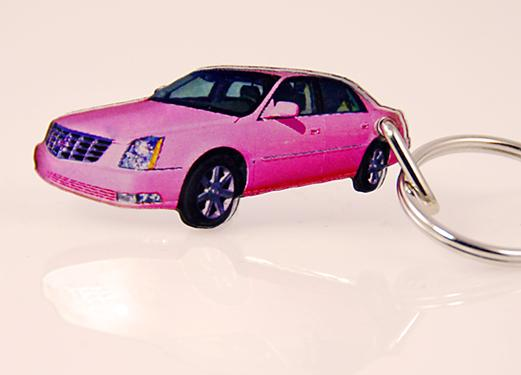 KE51:Contemporary Cadillac Key Chain