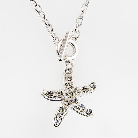 NA223: Charm Necklace with Starfish