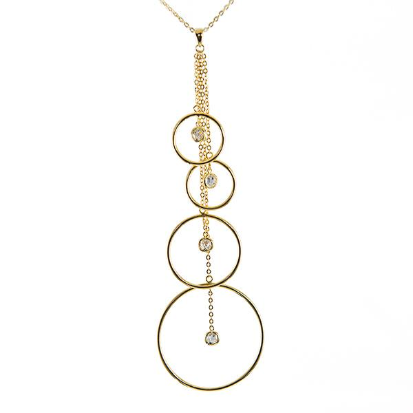 NA252: Elegant Circle of Excellence Necklace