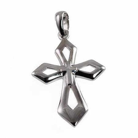 NA253: Sterling Silver Cross