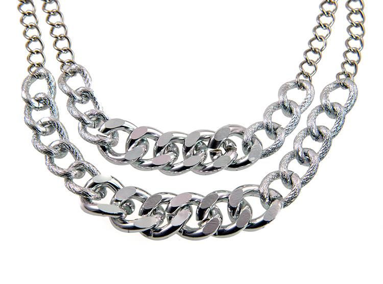 NA283: Designer Double Row Chain